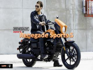 Renegade Sports S - Stylish Cruiser Bike at Affordable Price in India