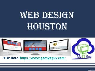 Houston Web Design Services - MY IT GUY