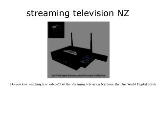 On tv box NZ
