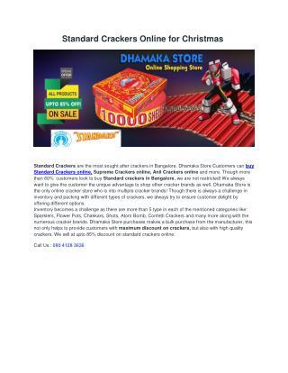 Standard Crackers Online