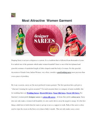 MOST ATTRACTIVE WOMEN GARMENT