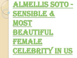 Sensible & Most Beautiful Female Celebrity in US