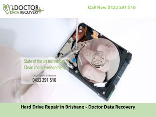 Hard Drive Repair in Brisbane - Doctor Data Recovery