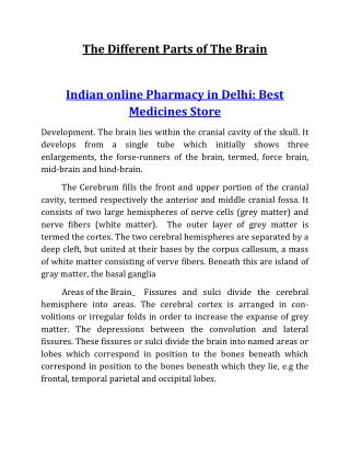 Indian online Pharmacy in Delhi: Best Medicines Store