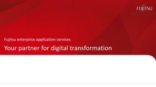 Your Partner for Digital Transformation | Fujitsu Enterprise