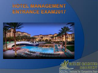 Hotel Management Coaching Institutes In Chandigarh