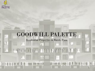 Goodwill Palette, Residential Properties in Ravet Pune