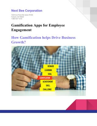E Book - Gamification Apps for Employee Engagement