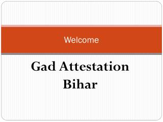 Certificate Attestation In Patna