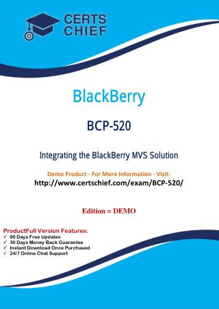 BCP-520 Test Questions and Answers