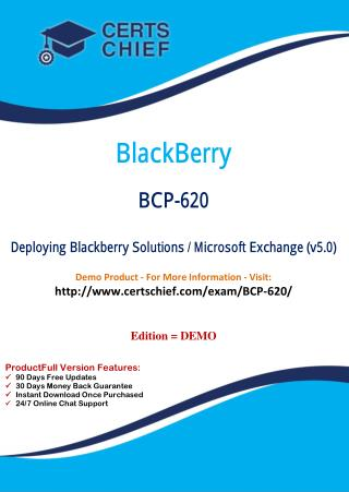 BCP-620 Test Questions and Answers