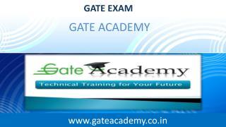 GATE Preparation App