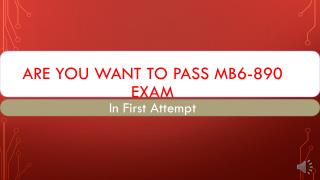 MB6-890 Exam Questions Answers