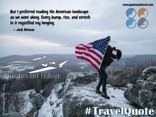 Online Travel Quotes by Jack Kerouac - QuotesOnTravel.com