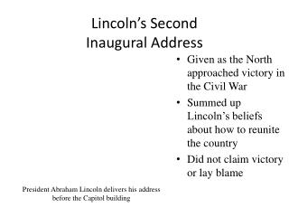 Lincoln s Second  Inaugural Address