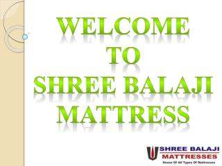 Balaji Mattress - Leading Mattress Brands in Mumbai