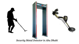 Security Metal Detector in Abu Dhabi