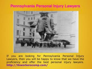 Philadelphia Workers Comp Lawyers