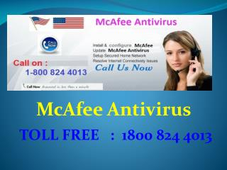 Dial @18008244013 Mcafee Antivirus Customer Support Phone Number