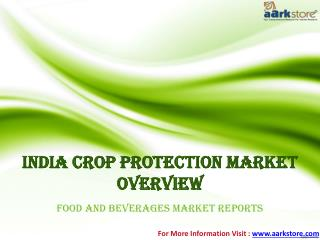 India Market of Crop protection: Aarkstore