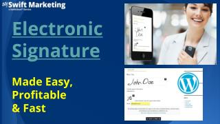 The Best Electronic Signature Provider
