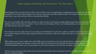 Soheil Najjaran How to Keep Yourself Younger Looking and Beautiful!