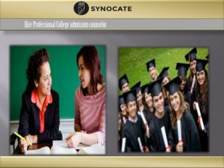 Search talented College admissions counselors