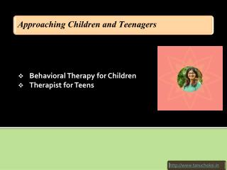 Approaching Children and Teenagers