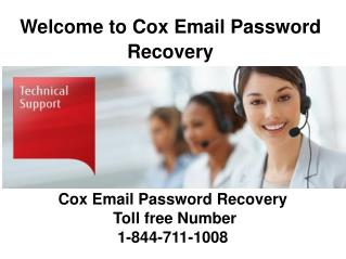 Cox password recovery | reset phone number