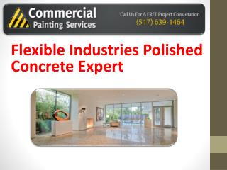 Flexible Industries Polished Concrete Expert