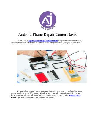 Android Phone Repair Center Nasik