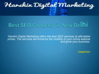Harshin Digital Marketing - Best Seo Services In Delhi