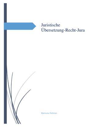 Juristische Übersetzung-Recht-Jura