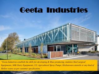 Stainless Steel Funnel - Geeta Industries