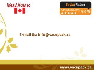 MiniPack Vacuum Sealer Machine, Vacuum Packers