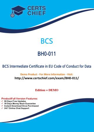 BH0-011 Certification Practice Test