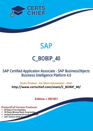 C_BOBIP_40 Certification Practice Test
