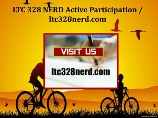 LTC 328 NERD Active Participation/ltc328nerd.com
