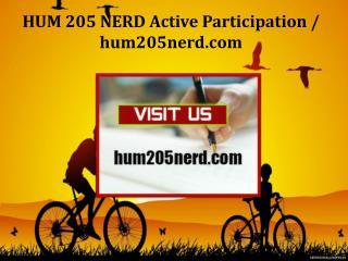 HUM 205 NERD Active Participation/hum205nerd.com