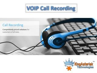 call recording | Client | Server - Kingasterisk