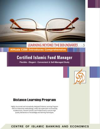 AlHuda CIBE-Certified Islamic Fund Manager