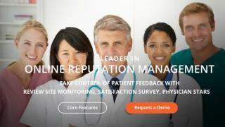 Physician Online Reputation Management