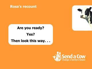 Rosa s recount