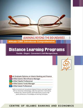 AlHuda CIBE-Distance Learning Profile - Local and International.pdf