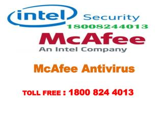 Ring us for Mcafee Antivirus Phone Number 18008244013