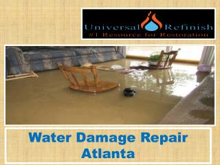 Water Damage Repair Atlanta