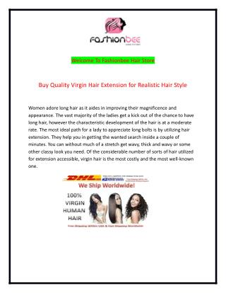 Virgin Hair Company USA