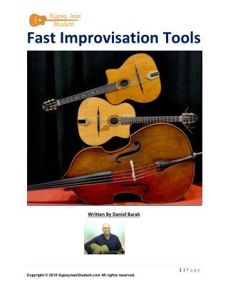 Gypsy Jazz Student Lesson Fast Improvisation Tools 7