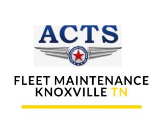 Fleet Maintenance Services
