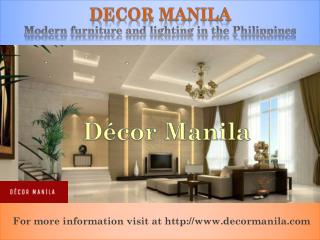 Luxury Home Decor collections online in Manila Philippines